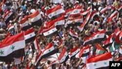 Масові протести у Сирії
