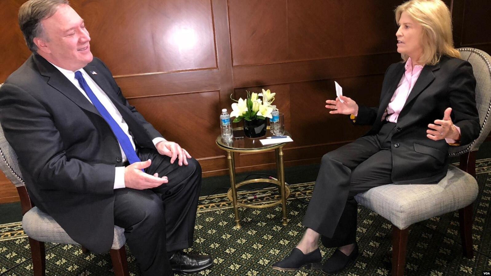 Майк Помпео о приоритетах внешней политики США