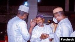 Matawalle da Fani-Kayode a gidan Pantami (Facebook/Fani-Kayode/onevoice africa)