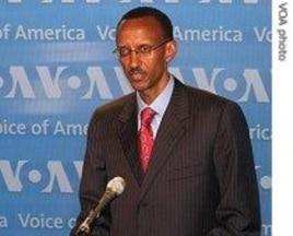 Rwanda's President Paul Kagama