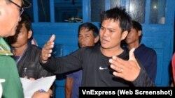 Thuyền trưởng tàu cá Việt Nam thuật lại việc bị tàu Trung Quốc đâm chìm ngày 20/4/2018 ở vùng biển Hoàng Sa.
