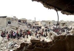 U.S. Condems Aleppo Attacks