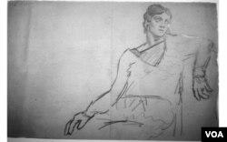 Salah satu karya Picasso yang ditemukan di garasi Pierre Le Guennec.