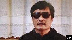 中国盲人法律维权人士陈光诚