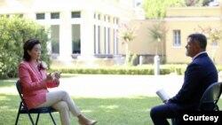 Ambasadorja amerikane Yuri Kim ne interviste me VOA