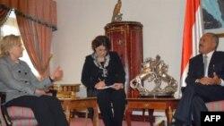 Susret Hilari Klinton i Ali Abdule Saleha u Sani