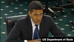 USAID အႀကီးအကဲ Rajiv Shah (၂၄ ဧၿပီ ၂၀၁၃)