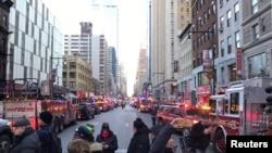 دھماکے کے بعد پورٹی اتھارٹی بس ٹرمینل جانے والی سڑکیں بند کردی گئی تھیں