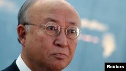 FILE - International Atomic Energy Agency (IAEA) Director General Yukiya Amano.