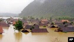 Tỉnh Quảng Bình từng chịu cảnh ngập lụt nghiêm trọng 5 năm trước. (Ảnh tư liệu).