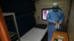 ပါကစၥတန္မွာ ရထားတြဲေတြကုိ COVID-19 ကုသေဆာင္ေတြအျဖစ္ ေျပာင္းလဲ