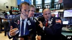 紐約證券交易所內。(2019年8月6日)