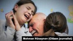 Mərhum Zaur Həsənovun ailə üzvləri