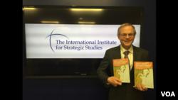 圖為倫敦著名智庫國際戰略研究所的美洲分部執行主任馬克菲茲帕特里克就這些東亞國家自身發展核武器的潛在風險撰寫的新書。