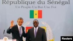 Президенти Барак Обама і Макі Салль
