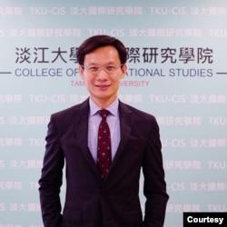 台湾淡江大学国际研究所副教授张福昌。(照片提供: 张福昌)