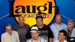 Beberapa pelawak dunia yang pernah tampil di 'Hollywood Laugh Factory' (foto: dok).