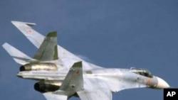 روسی لڑاکا طیارہ گر کر تباہ، پائلٹ محفوظ