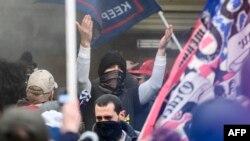 Cuộc tuần hành hôm 6/1 đã trở thành cuộc tấn công vào Điện Capitol khi Quốc hội đang họp