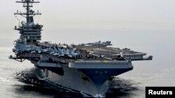 Tàu sân bay USS Theodore Roosevelt (CVN71) tại Biển A rập năm 2015