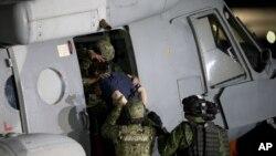 """Joaquín """"El Chapo"""" Guzman, peleará la extradición e intenterá retrasarla, argumentando que la justicia soberana de México debería primar sobre el requerimiento de EE.UU."""