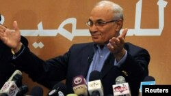 FILE - Former Egyptian prime minister Ahmed Shafik.