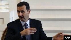 Президент Сирии Башар аль-Ассад.