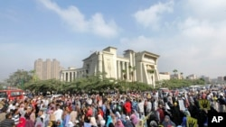 Trial of ousted Egyptian President Mohamed Morsi