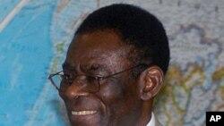 Presidente Teodoro Obiang Nguema da Guiné-Equatorial