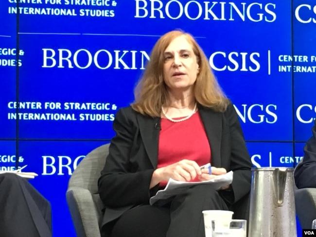戰略與國際研究中心中國權力項目主任葛萊儀(美國之音鐘辰芳拍攝)