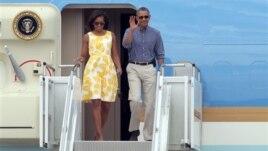Kur Presidenti amerikan shkon me pushime
