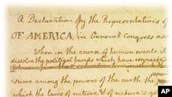 Declaration of independence Rough Draft