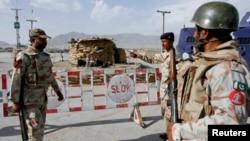 Pasukan keamanan Pakistan melakukan penjagaan keamanan di Quetta, Pakistan baratdaya (foto: dok).