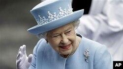 26일 북 아일랜드를 방문 중인 엘리자베스 영국 여왕.