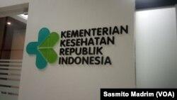 Kantor Kementerian Kesehatan di Jakarta, 20 Januari 2020. (Foto: Sasmito Madrim/VOA)
