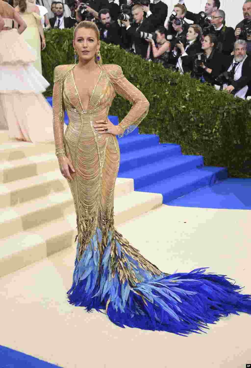 بلیک لایولی در مت گالا ۲۰۱۷، مراسم مد و لباس به نفع موزه متروپولیتن در نیویورک