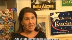 Pemilu AS - Persaingan Merebut Pemilih Perempuan - Liputan Berita VOA