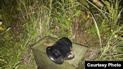 Zabranjena vabilica za ptice, zaplenjena tokom akcije policije, a nakon prijave Tima za borbu protiv krivolova Društva za zaštitu i proučavanje ptica Srbije (Foto: DZPPS)
