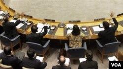 Dewan Keamanan PBB hari Jumat (16/12) mencabut sanksi atas pemerintah Libya.