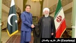 عمران خان او حسن روحاني