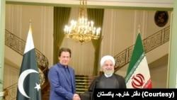 وزیر اعظم عمران خان نے اتوار کو تہران کا دورہ کیا تھا۔