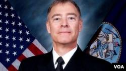 新任美国太平洋舰队潜艇司令部司令 菲德列克·罗格(美国海军图片)