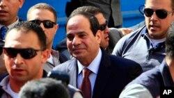 Egypt's former army chief Abdel-Fattah el-Sissi, Cairo, Egypt, May 26, 2014.
