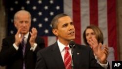 President Obama during his 2010 State of the Union Address