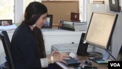 La periodista cubana también le gustaría practicar más la docencia en la Isla para enseñar a las mujeres cómo crear sus páginas de Facebook y Twitter.