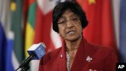 Cao ủy trưởng Cao ủy Nhân quyền Liên hiệp quốc Navi Pillay