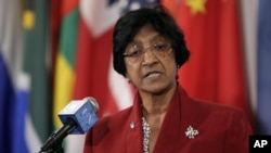 United Nations High Commissioner for Human Rights Navi Pillay