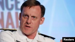 National Security Agency Director Admiral Michael Rogers speaks at the third annual Intelligence and National Security Summit in Washington, D.C., Sept. 8, 2016.
