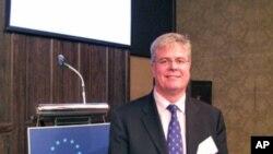 欧洲商会理事江孟哲关心台湾选举