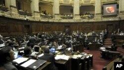 El Senado uruguayo aprobó la legislación que despenaliza el aborto por 17 votos a favor y 14 en contra